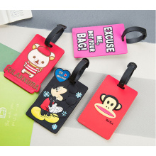 Anpassade PVC Travel Bag Tags