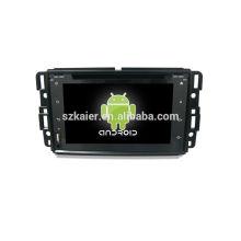 Quatro núcleos! Android 6.0 carro dvd para GMC com 7 polegadas touch screen capacitiva / GPS / Link espelho / DVR / TPMS / OBD2 / WIFI / 4G