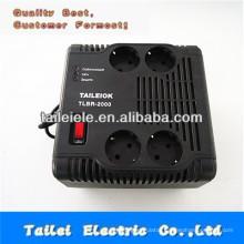 automatic socket type voltage regulator 220vac TLBR-2000va