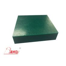 Folha plástica expulsa do polietileno high-density da textura