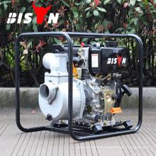 BISON China Taizhou BSDWP30B 5hp 80mm 3inch Big Displacement Сильный дизельный водяной насос дизельного двигателя