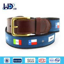 2015 Mens Flags Canvas Club Belts