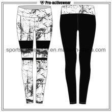 OEM 2016 últimas diseño de la sublimación de impresión de las mujeres deporte yoga pantalones
