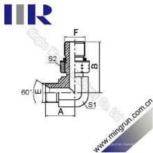 90 Coude Bsp Mâle / SAE O-Ring Raccord de Tube Hydraulique (1BO9-0G)