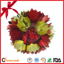 Mini Christmas Red Fancy Bows con tarjeta colgante