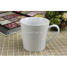 Chine tasse usine tasses en porcelaine blanche tasses en gros
