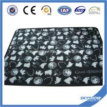 Manta estampada de lana coralina (SSB0189)