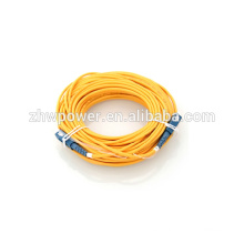 Puente de cable óptico del cable del remiendo de la fibra, SC UPC SM G657A2 Simplex 2m m 200M para el envío libre