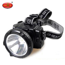 H1L LED Rechargeable Miners Headlamp