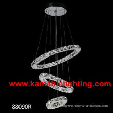 Modern Circular Ring Crystal LED Lighting (Kam88090D)