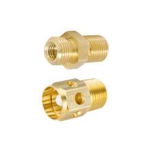 Custom machining service cnc brass turned component