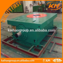 oil well rotary table