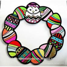 Easter Egg Wreath décoration de fête de Pâques