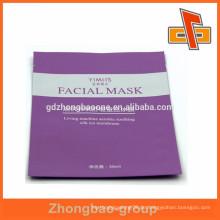 Laminat Material Material und Hitze Dichtung Abdichtung & Griff Aluminiumfolie Gesichtsmaske Tasche