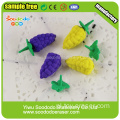 3D Cute Fruit Shape ,Novetly eraser promotion stationery