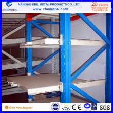 Prix d'usine avec High Load Q235 Rack de moule / tiroir Racking / Sild Racking