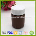 Wholesale cylinder dropper liquid plastic 30ml amber pet bottle with screw cap