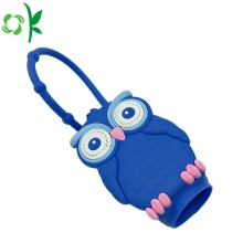 Silicone Animals Forma Mão Sanitizer Sleeve Holder