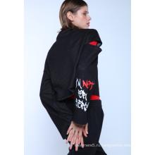 Трикотажный пуловер DENIM с принтом