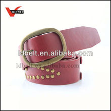Popular army military leather belt