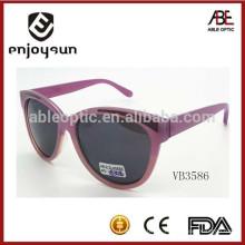 Gafas de sol redondas de la manera de la señora encantadora del diseño con precio competitivo
