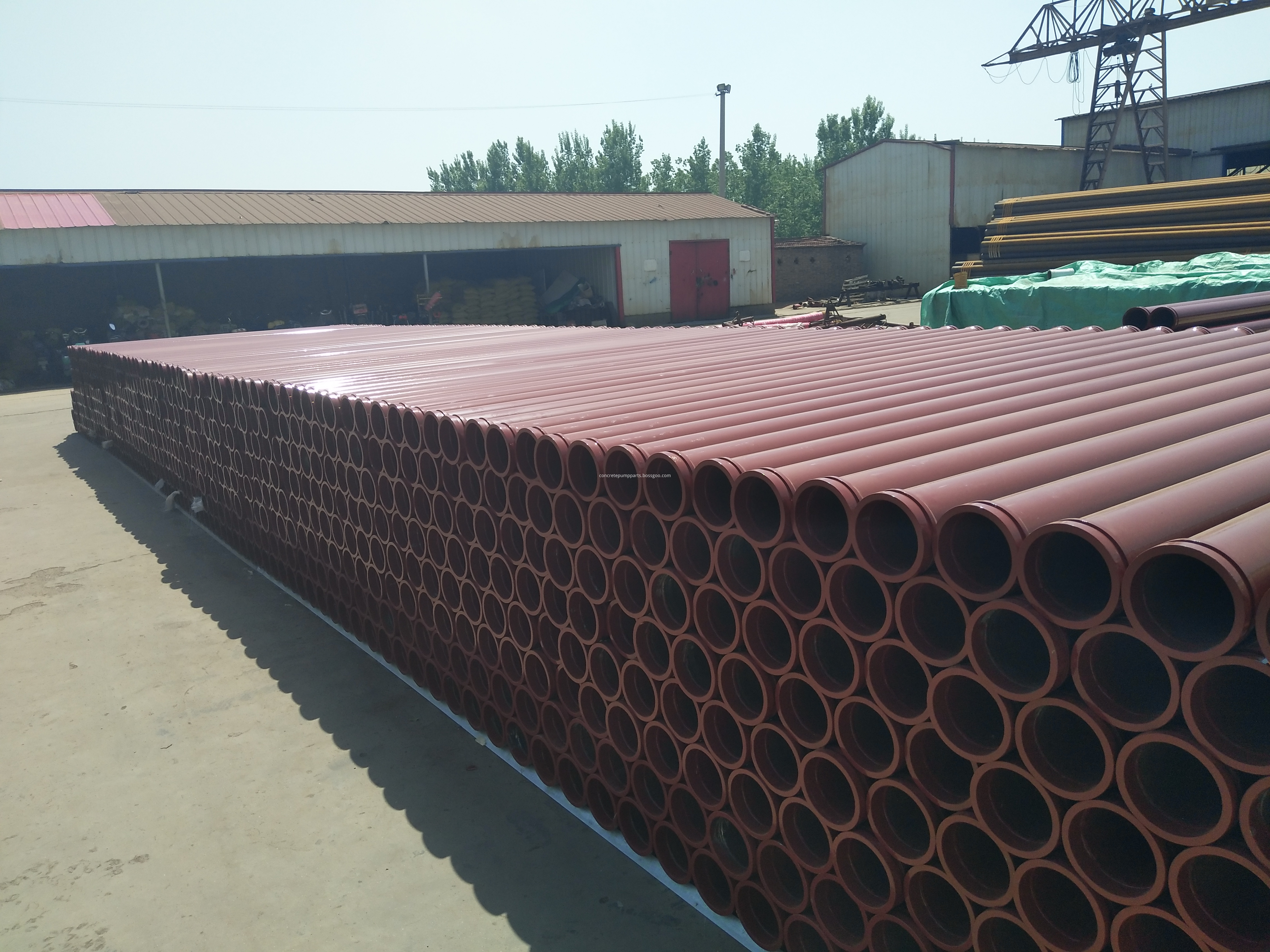 concrete pump welded pipe