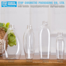 TB-VB série 120ml 250ml 280ml 500ml de belle conception oem service qualité prix concurrentiel en plastique transparent bouteille d'animal familier