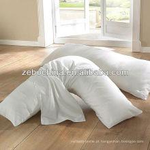 Fábrica direta do projeto de luxe feita por atacado macio travesseiro almofada personalizado hotel