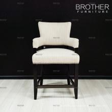 Коммерческая бар мебель барные стулья барные стулья с задней части ткани
