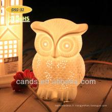 Vente chaude Owl lampe lampe de table moderne