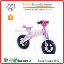 Kids Wooden Toys Balance Bike