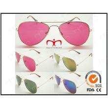 Clásico y más vendido para gafas de sol de metal unisex (WSM503001)