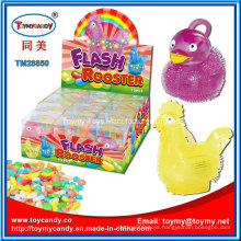 Hot Selling Easter Chicken and Duck Toy with Sweet Candy