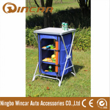 Foldable picnic MDF removable kitchen for BBQ