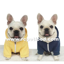 cotton dog clothes with hood