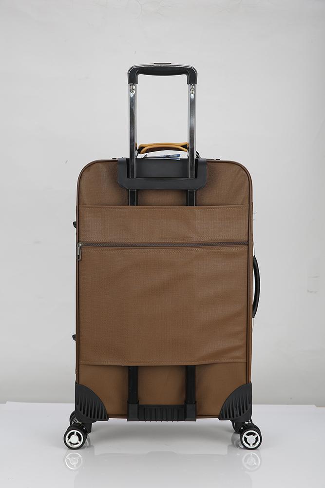 Pu Luggage Sets Leather Boarding