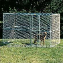 Горячего погружения гальванизированная псарня собаки
