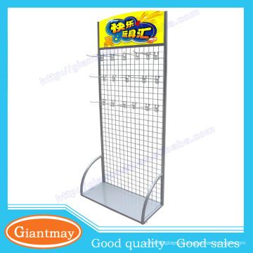 pulverbeschichtetes hängendes bodenbelag gridwall panel socksdisplay rack