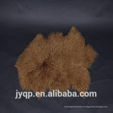 2018 China Proveedores de tapicería Tibetan Mongolian Lamb Fur Sheep Mat