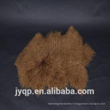 2018 China Suppliers upholstery Tibetan Mongolian Lamb Fur Sheep Mat