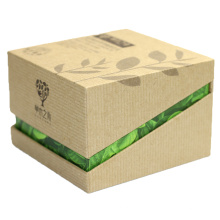 Eco-friendly recyclable luxury natural carton handmade cardboard soap packaging box