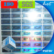Holographic Cololful 3D Security Label