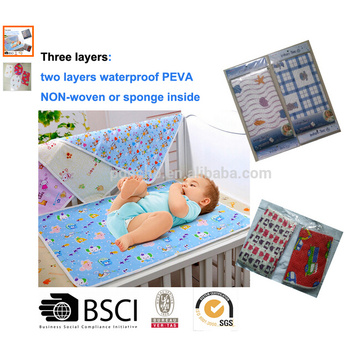 Waterproof and Breathable baby changing mat