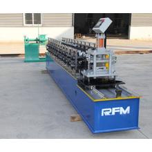 Puerta de persiana enrollable de acero que forma la máquina