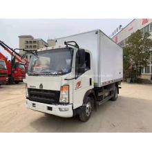 HOWO camion frigorifique avec benne basculante