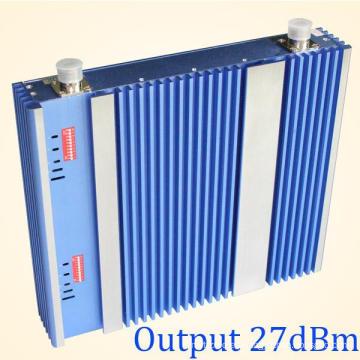 Repetidor GSM y Dcs de mayor potencia, amplificador de señal móvil para señales de banda dual 900 / 2100MHz