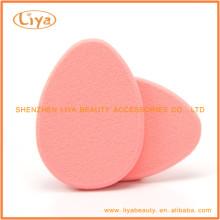 Горячий розовый макияж губку для Фонда и порошок