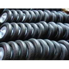 Твердых PU пены колесо 350-8 для тачку