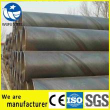 Заводская поставка стальной трубы SSAW Q235 с спирально сварной сваркой