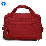 Oxford cloth travel bag with pull lever